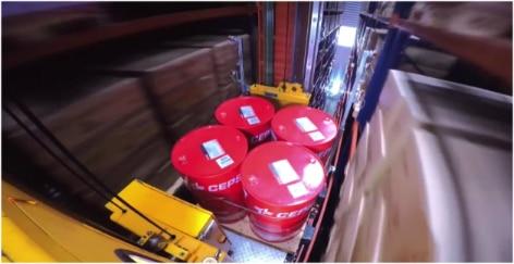 Mecalux construit un entrepôt automatique autoportant de plus de 4 500 mètres pour Cepsa