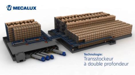 Transtockeurs à double profondeur : l'équilibre entre capacité et maniabilité