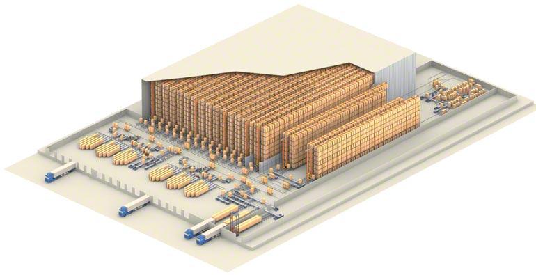 Exemple d'entrepôt central