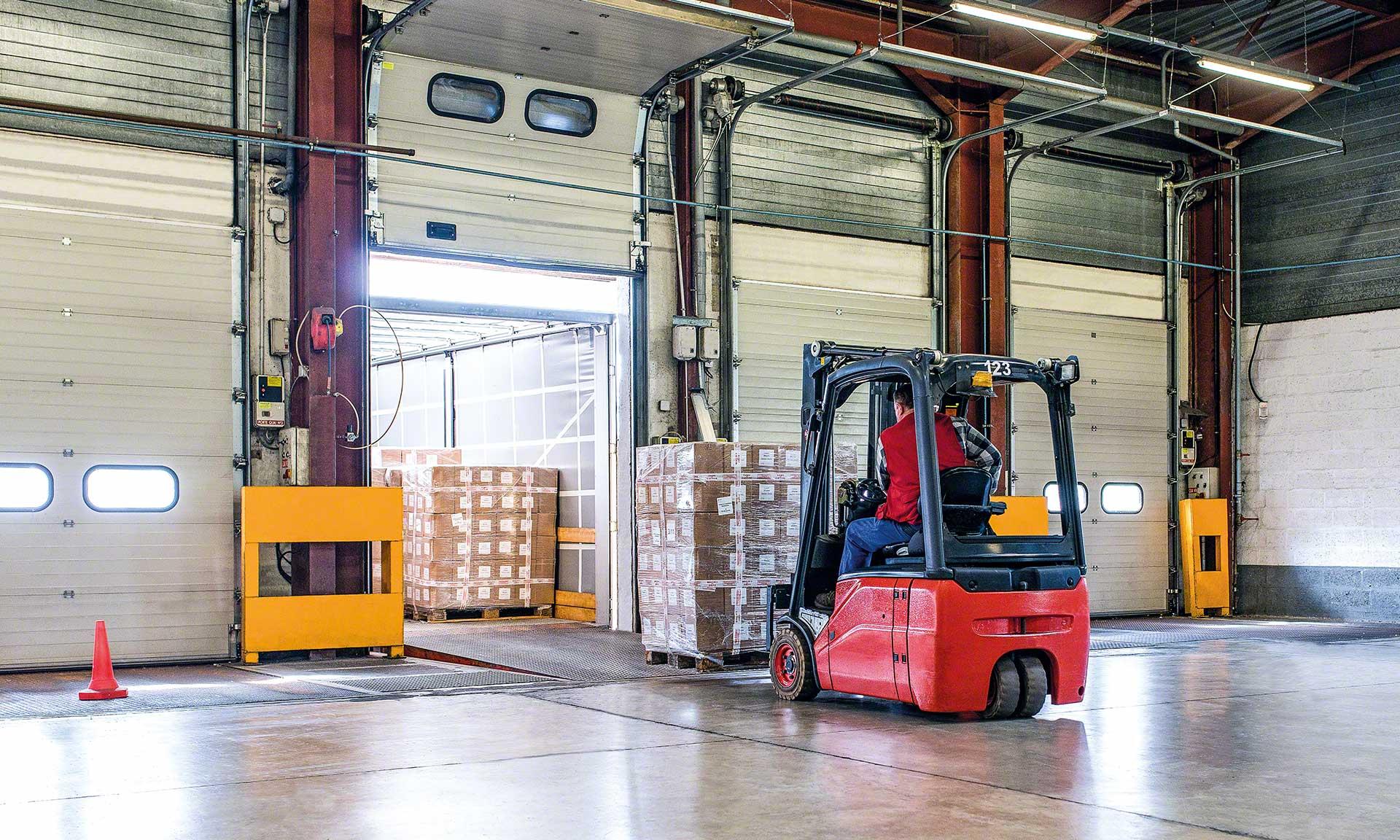 SeD: un entrepôt de 115 000 palettes